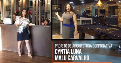 Arquitetas Cyntia Luna e Malu Carvalho