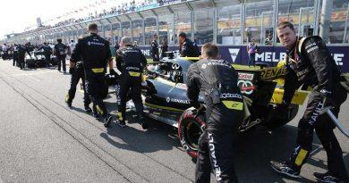 A Renault F1 Team começou o Campeonato Mundial de Fórmula 1 conquistando apenas 1 ponto