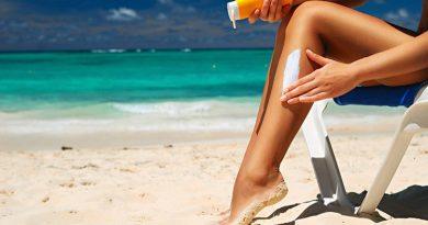 Ação na praia de Boa Viagem alerta sobre cuidados com a pele no verão