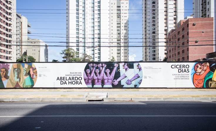 Grupo Rio Ave Arte vai ressaltar em grande mural 14 obras de artistas pernambucanos e estrangeiros