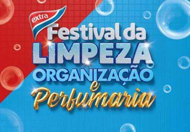 Festival da limpeza e organização no EXTRA