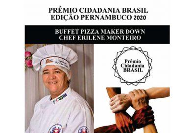 Pizza Maker Down é agraciado com Prêmio Cidadania Brasil – PE 2020